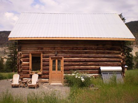 Log Cabin For Rent Nicola River
