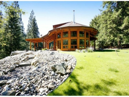 Log Home And Acreage For Sale Mission BC