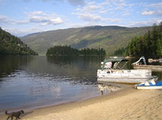 East Barriere Lake Vacation Property For Sale