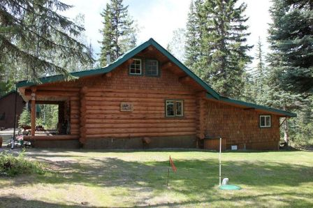 Log Cabin For Sale Bowron Lakes