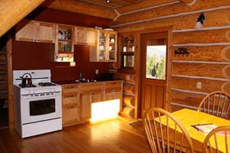 Kitchen Bear Valley Highlands Cabin
