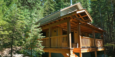 The Logden Lodge Ymir BC Cabins For Rent