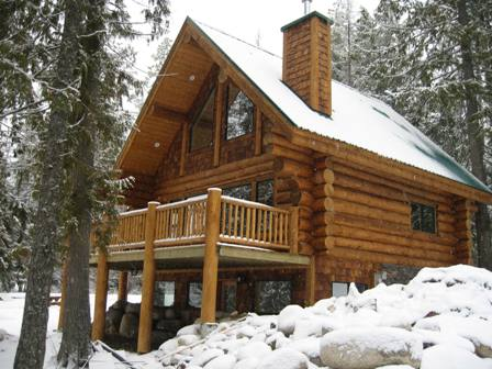 Lakeview Log Cabin - Kootenay Lake