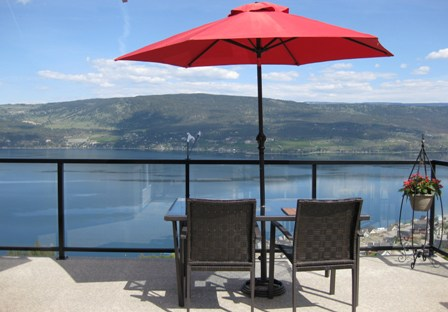 Patio - View of Okanagan Lake