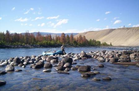 The Rock & River Rustic Retreat Trout Fishing on The Thompson River