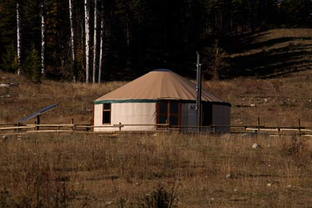 Choose between our handcrafted Log Cabins or the unique Mongolian Yurt.